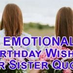 Top 27 Happy Birthday Wishes To My Lovely Sister Quotes