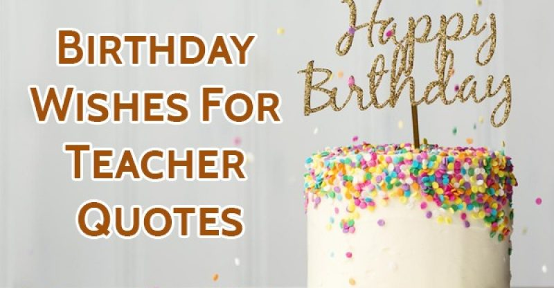 Stupendous Top 80 Birthday Wishes For Teacher Quotes Sms And Status Yo Handry Personalised Birthday Cards Bromeletsinfo