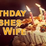 Top 60 Birthday Wishes For Wife Quotes, SMS and Status
