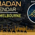 Ramadan 2020 Calendar South Melbourne: Sehar & Iftar Time
