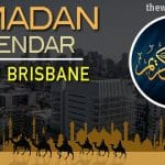 Ramadan 2020 Calendar South Brisbane: Sehar & Iftar Time