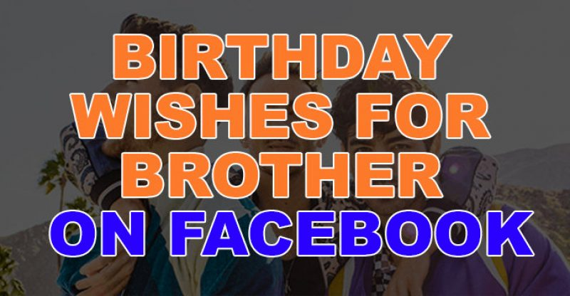 Miraculous Top 27 Happy Birthday Wishes For Brother On Facebook Quotes Funny Birthday Cards Online Elaedamsfinfo