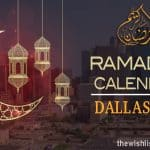 Ramadan 2020 Calendar Dallas City: Sehar & Iftar Time