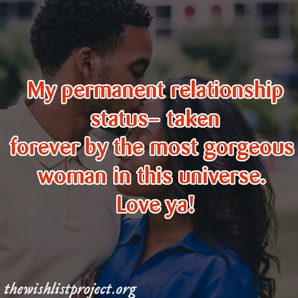 Love Quotes For Wife status