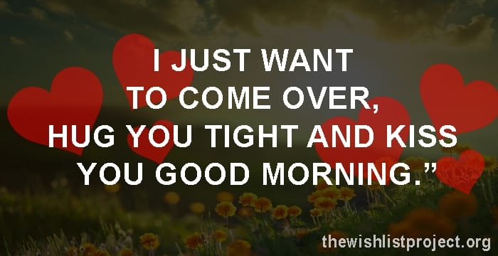 Good Morning Love Quotes for Him status