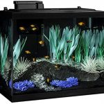 Tetra colorfusion aquarium 20 gallon fish tank kit, includes led