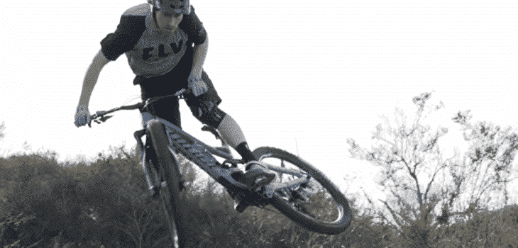 How to Ride Off a Drop on a Mountain Bike